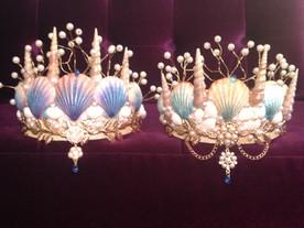 Dreaming Olypsis Seashell Mermaid Crowns