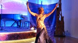 Areena Belly Dancer Mermaid Crown