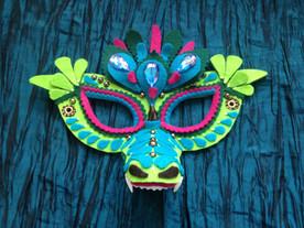 Dreaming Olypsis Felt Dragon Mask