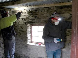 Mitchells Cottage Fruitlands, Conservation and Restoration Work