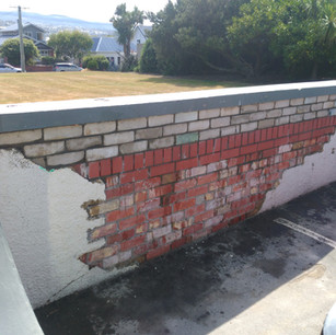 St Clair Wall Brickwork, Dunedin, Wainwr