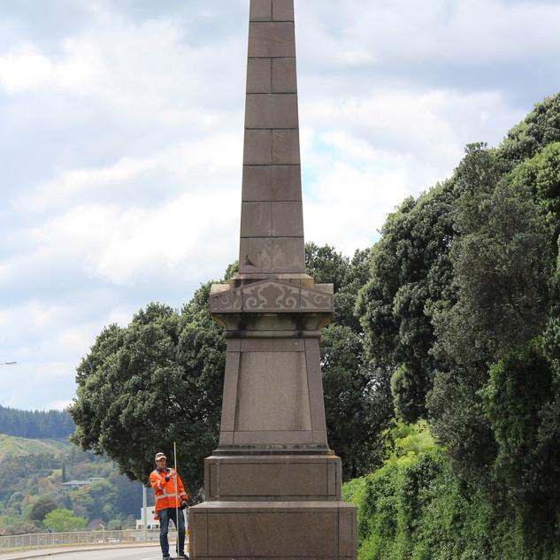 Cooks Landing Monument, Gisborne, Wainwr