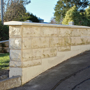 Oamaru Stone Wall, Dunedin, Wainwright S