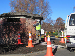 Opening of the Historic Victorian Urinal, Manor Place Dunedin