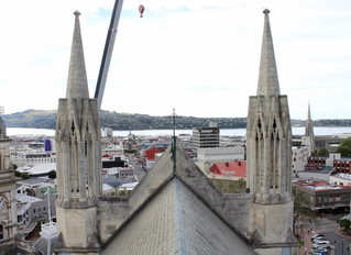 Inspecting St Pauls Cathedral Dunedin
