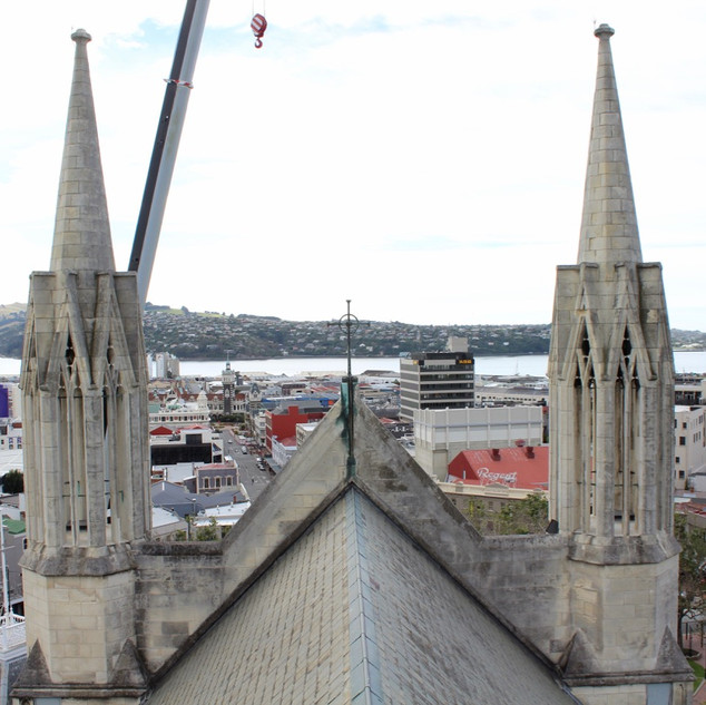 St Pauls Cathedral Dunedin, Inspection,