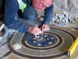 Restoring Victorian Mosaic Floor