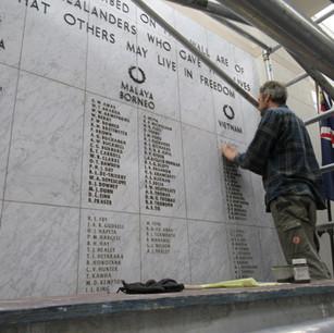 Auckland War Memorial Museum, Repaint Le