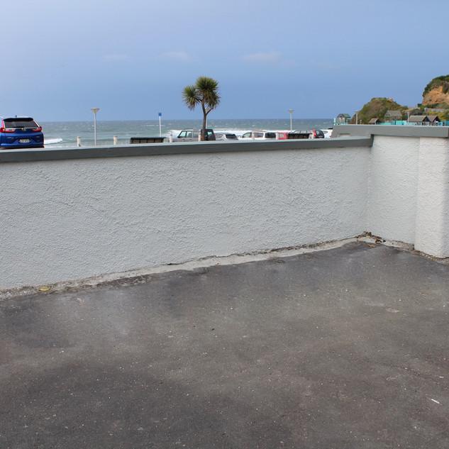 St Clair Wall Rebuilt, Dunedin, Wainwrig
