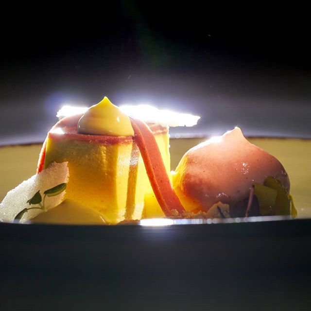 Mango - Zwetschgenbisquit mit Zwetschgen