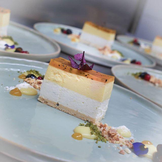 Und zuletzt - das Dessert! Passionsfruch