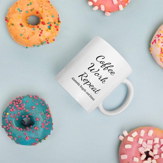 Mug : coffee work repeat