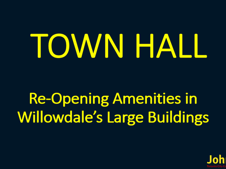 Reopening Common Amenities Townhall