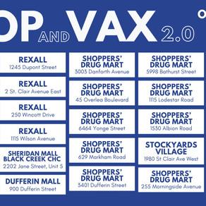 Upcoming Vaccine Locations