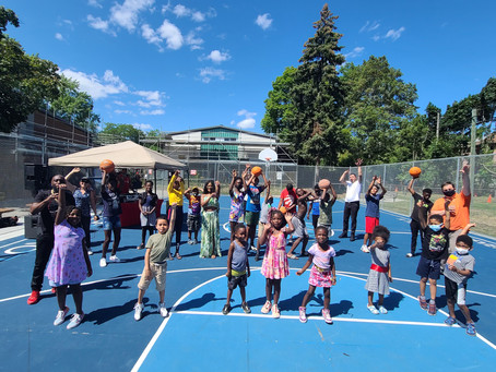 Willowtree Basketball Court Opens