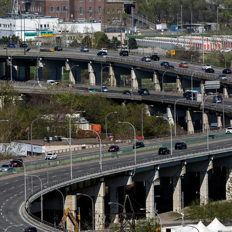 Weekend Gardiner Expressway Closures