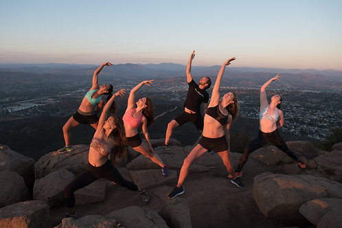 Hike to Yoga-San Diego Experience