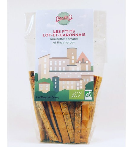 Biscuits B - Amusettes tomates et fines herbes