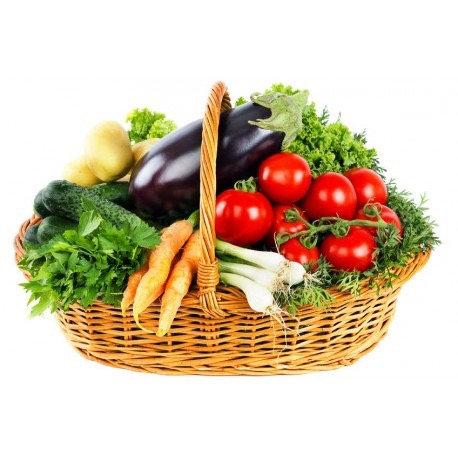 Panier de fruits et légumes surprise (petit)