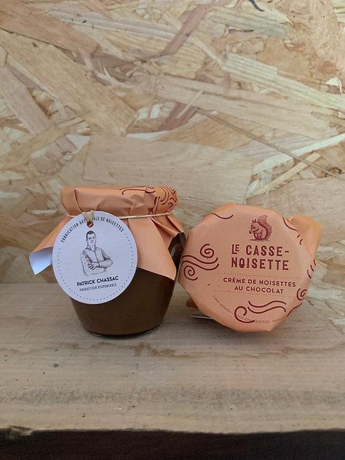 Crème de noisettes au chocolat