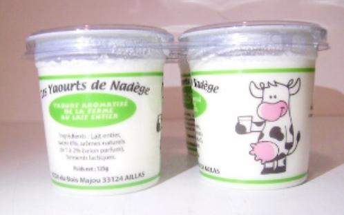 Yaourt au lait entier - Vanille (4 pots)