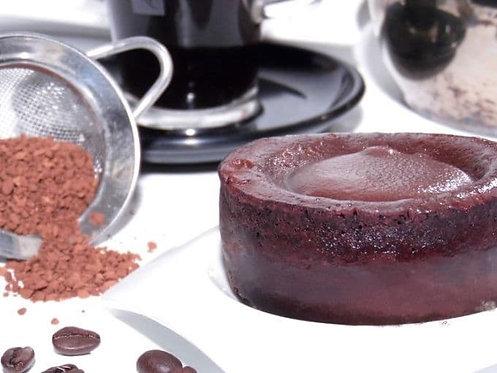 Cœur coulant chocolat praliné
