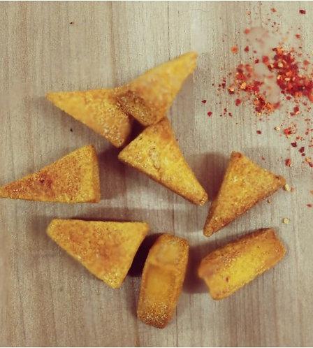 Biscuits B - Sablés tomate et piment d'Espelette