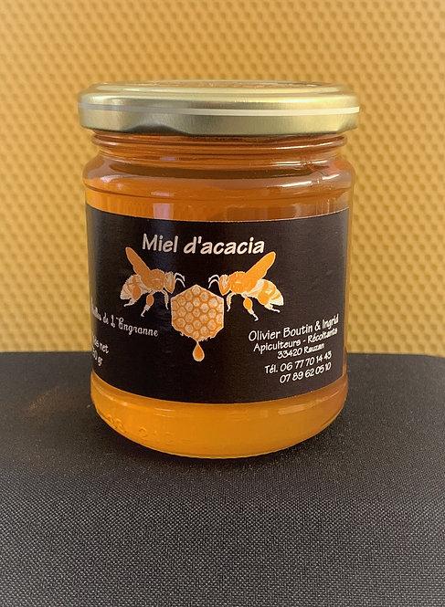 Miel d'Acacia Aubépine 250g