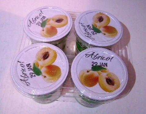 Yaourt au lait entier - Abricot (4 pots)