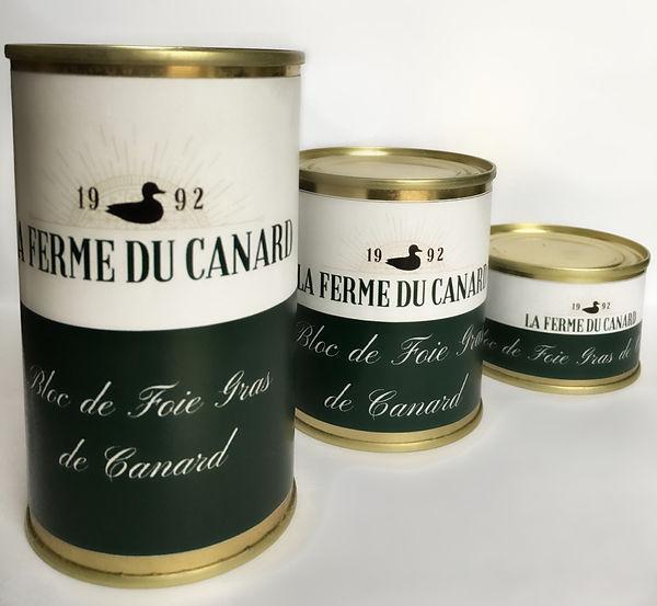 Blocs de Foie Gras - La Ferme du Canard