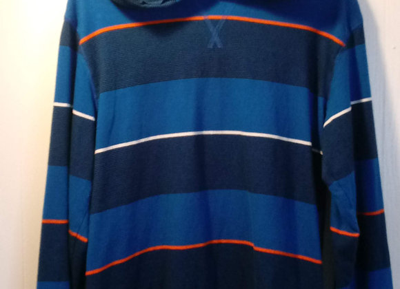 Striped Long Sleeve Top - Size (10/12)