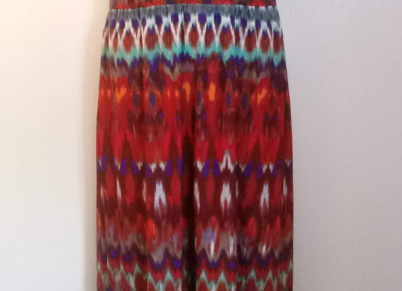Multicolor Maxi Dress (L)