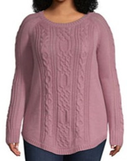 Long Sleeve Round Neck Pullover Sweater