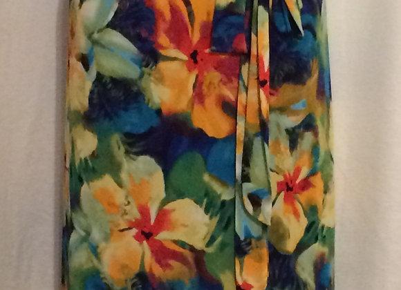 Floral Sleeveless Dress (22/24)