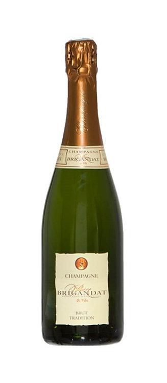 Pierre Brigandat - Champagne Blanc de Noirs Tradition Brut