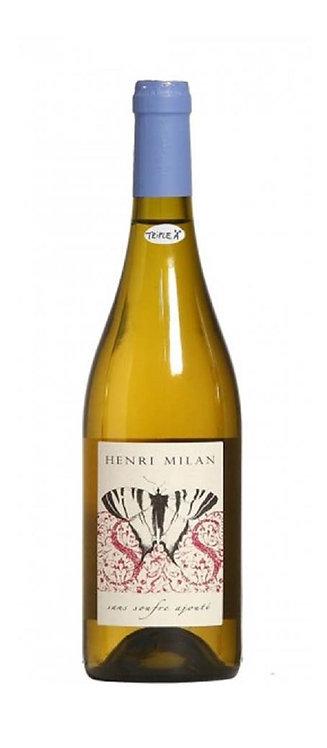 Henri Milan - Blanc Le Papillon sans Soufre Ajouté