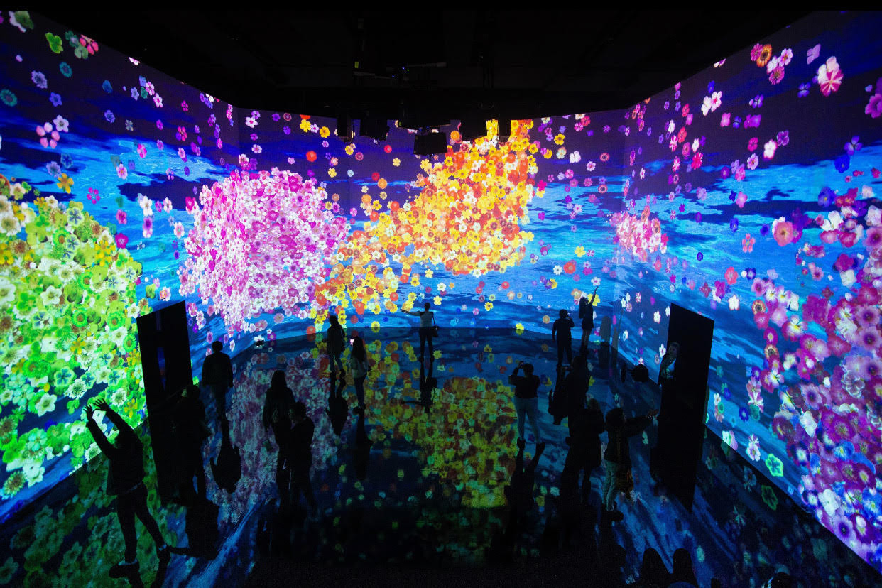 Art + Tech Exhibitions | ARTECHOUSE | Washington, DC