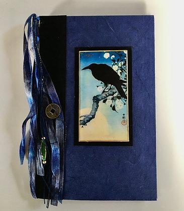 Koson Crow Refillable Notebook