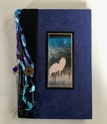 Koson Egrets Refillable Notebook