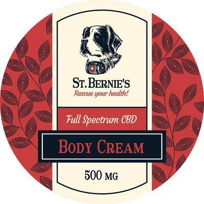 Body Cream-500mg Full Spectrum Hemp Cream