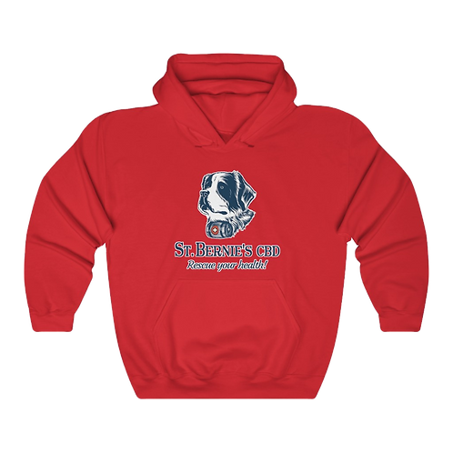 St. Bernie's Unisex Hooded Sweatshirt