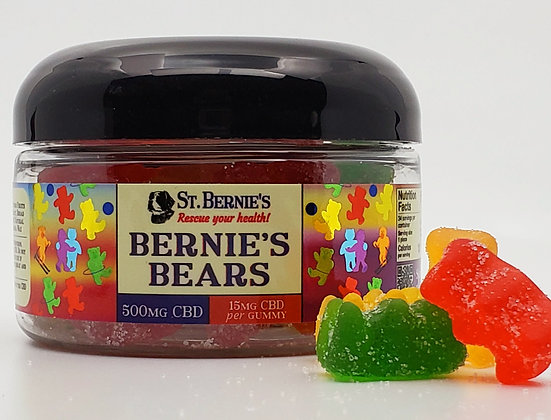 Bernie's Bears Fruit Flavored Gummies