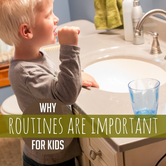 Why Routines are Important for Kids