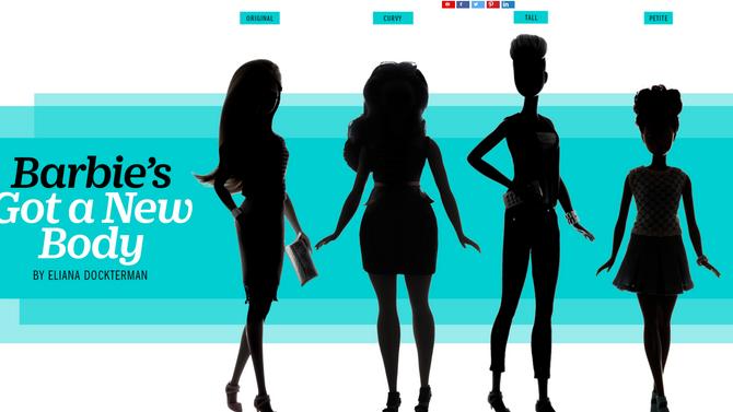 Barbie's Got a New Body