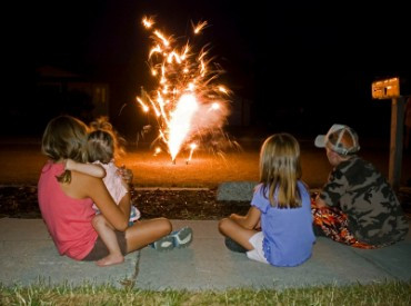 Kids and Fireworks