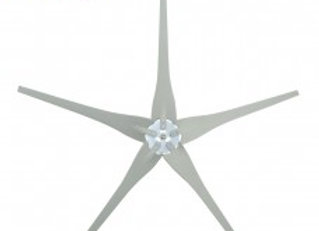 5 Raptor Generation 4 Blades and Hub for Wind Turbines