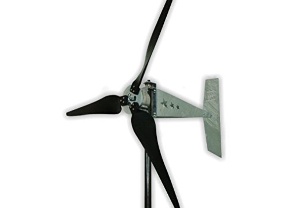 "1600 Watt 12V Missouri Raptor G5 70"" Diameter 3 Blade Freedom Wind Turbine"
