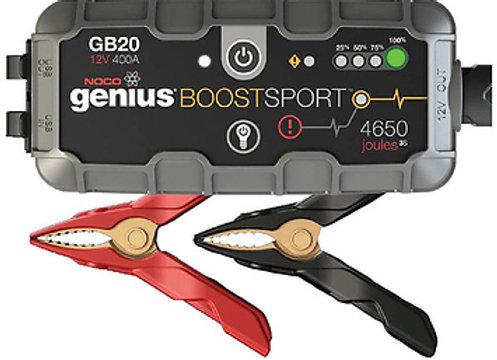 NOCO 400 Amp GB20 Boost 12V UltraSafe Lithium Jumper Starter