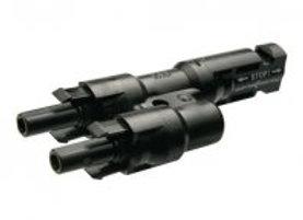 PV Connector Multi-Contact MC4 Solar Line 1 Male2 Female Plug