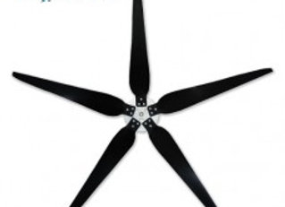 5 Raptor Generation 5 70 Inch Diameter Blade and Hub for Wind Turbines